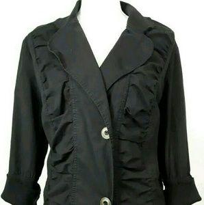 2XL XCVI black cotton jacket